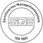 Logo für die ISO 9001 Zertifizierung