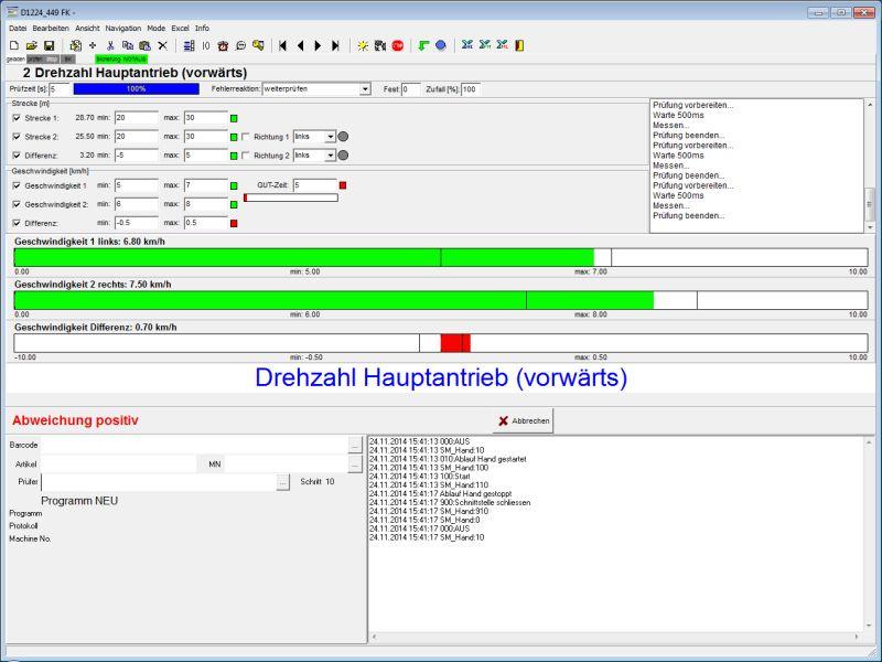 Prüf- und Testsoftware