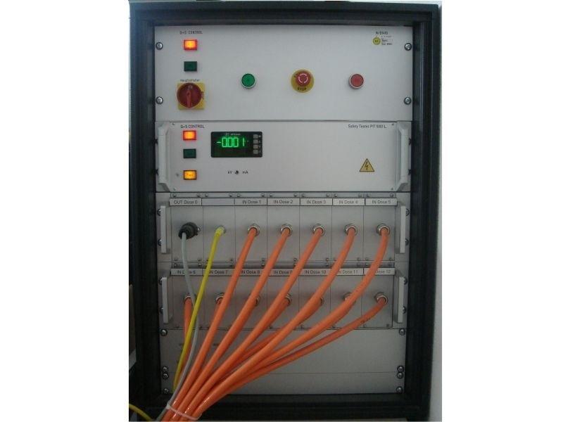 Prüfsystem nach EN 61439